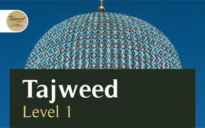 Al Itqaan Tajweed Level 1